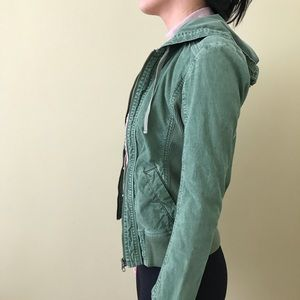 Jackets & Blazers - Green Utility Jacket